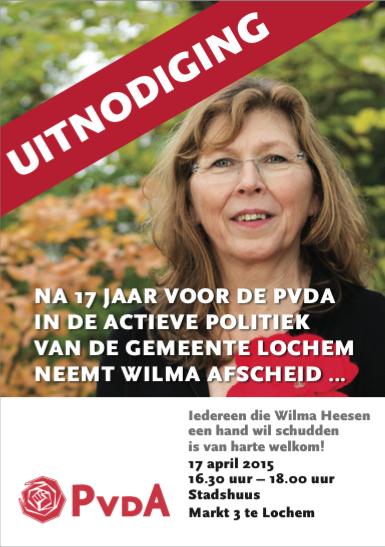 afscheid Wilma Heesen